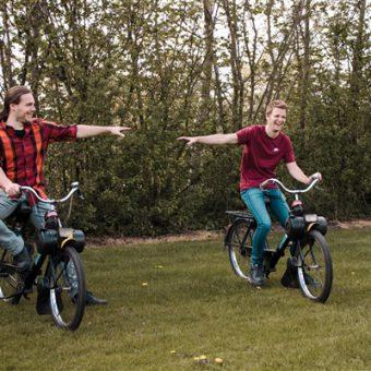 Corona uitje in Drenthe solex toer - Het Drents Kwartiertje - Solex Huren / Rijden - Dafje Huren / Rijden - Groepsactiviteiten, workshops, teambuilding en trainingen Drenthe