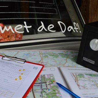 Corona uitje met de Daf puzzeltocht Drenthe 2 - Het Drents Kwartiertje - Solex Huren / Rijden - Dafje Huren / Rijden - Groepsactiviteiten, workshops, teambuilding en trainingen Drenthe