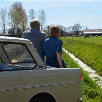 lente uitje Drenthe coronaproof Daf puzzelrit