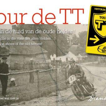 Daf huren en toertocht maken historische TT route in Drenthe