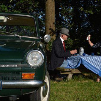 Daf rijden in Drenthe met vaderdag