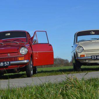 Daf rijden bij het Drents kwartiertje; de leukste manier om Drenthe te verkennen.