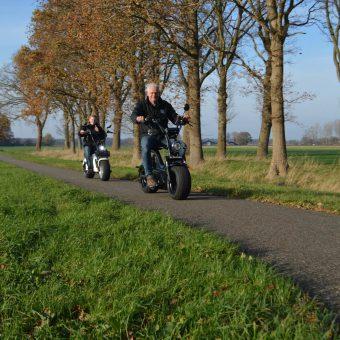 E shopper huren en rijden Drenthe 34 1 - Het Drents Kwartiertje - Solex Huren / Rijden - Dafje Huren / Rijden - Groepsactiviteiten, workshops, teambuilding en trainingen Drenthe