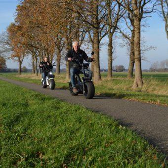 Eshopper rijden Drenthe