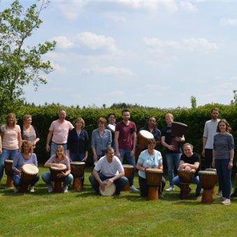 djembe workshop 7 - Het Drents Kwartiertje - Solex Huren / Rijden - Dafje Huren / Rijden - Groepsactiviteiten, workshops, teambuilding en trainingen Drenthe