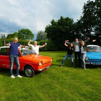 familieuitje met de Daf - Het Drents Kwartiertje - Solex Huren / Rijden - Dafje Huren / Rijden - Groepsactiviteiten, workshops, teambuilding en trainingen Drenthe