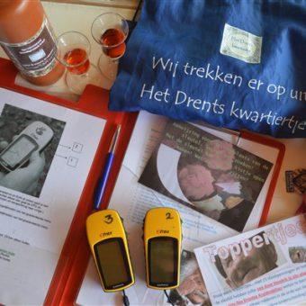 In teams gaan jullie op pad tijdens deze GPS speurtocht in Drenthe.