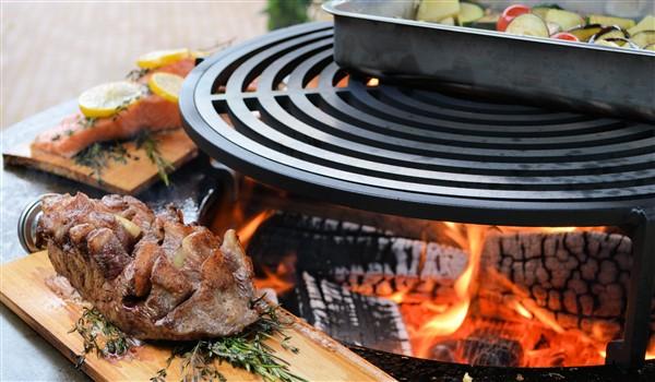 Outdoor cooking op de Ofyr