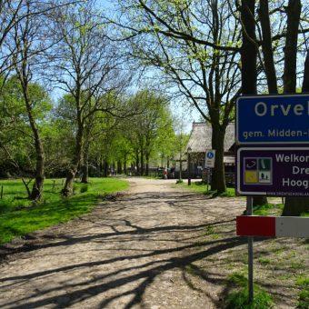 Daf rijden in Drenthe en het authentieke dorpje Orvelte verkennen.