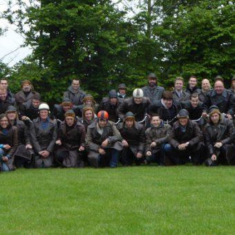 solex toertocht1 - Het Drents Kwartiertje - Solex Huren / Rijden - Dafje Huren / Rijden - Groepsactiviteiten, workshops, teambuilding en trainingen Drenthe