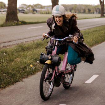 Solex uitje in Drenthe. Veel routes en arrangementen op de solex mogelijk.