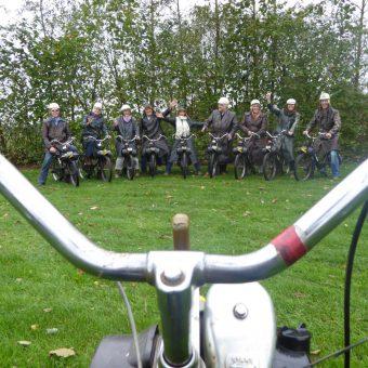 Solex groepsuitje bij het Drents kwartiertje.