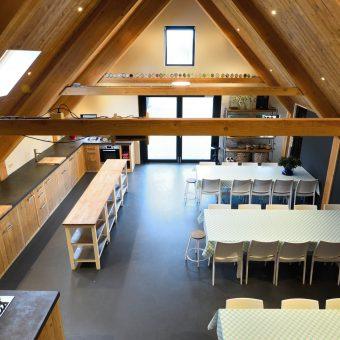 vergaderen in hartje Drenthe