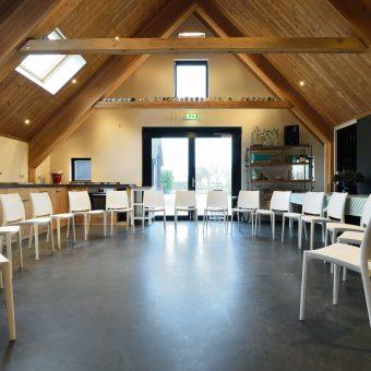 Ruime vergaderruimte in hartje Drenthe